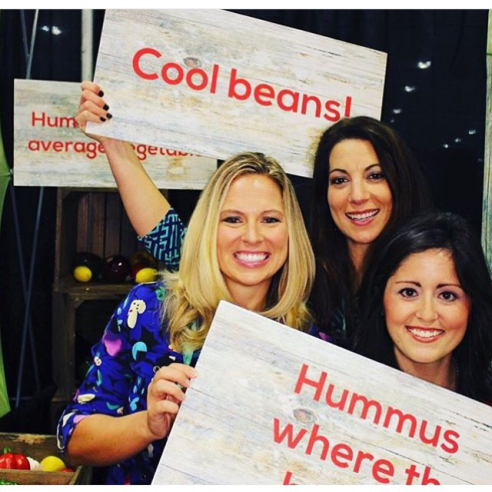 Rebecca Scritchfield, Leslie Schilling, Blair Mize with Sabra Hummus