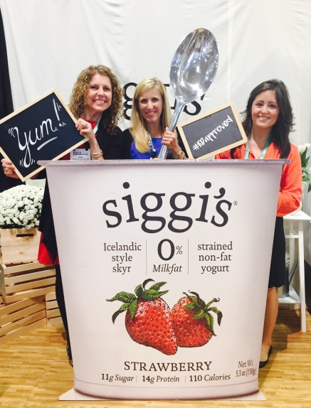 Siggi's Yogurt Booth at FNCE