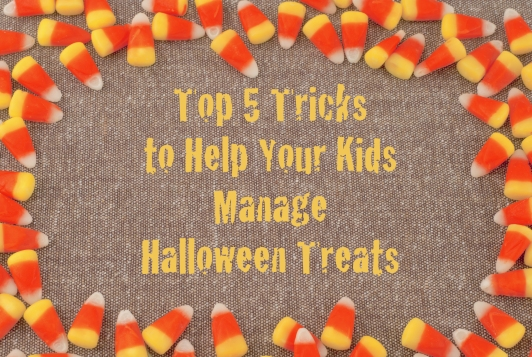 registered dietitian blair mizes top 5 tricks for helping kids manage halloween candy and treats